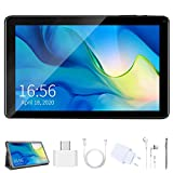 Tablet 9 Pollici Android 9.0 Pie con Wifi Offerte, 128GB Espandere 3GB RAM 32GB ROM Tablet PC con Google Play e Gioco Educativo, Certificato da Google GMS Tablet per bambini Adulto (Nero) (Nero)