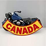 Canada Bandidos Rocker Biker Patch Pinup Cool Patches for Clothing Accessories Application Stickers