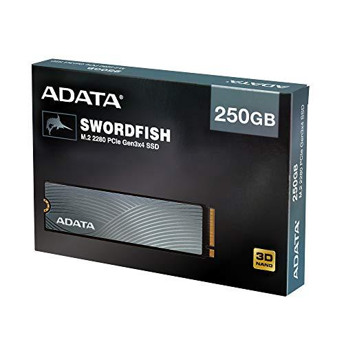 ADATA Swordfish 250 GB M.2-2280 NVME Solid State Drive