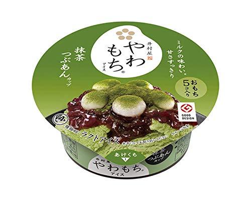 井村屋 やわもちアイス 抹茶つぶあん 贅沢セット カップ6個 最中6個