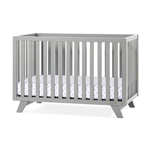 Great Features Of Forever Eclectic by Child Craft SOHO 4-in-1 Convertible Crib, White/Natural (Gray)