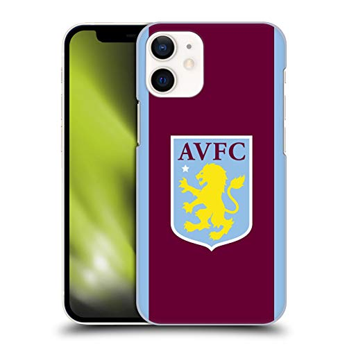 Official Aston Villa Football Club Home 2019/20 KIT Hard Back Case Compatible for Apple iPhone 12 Mini
