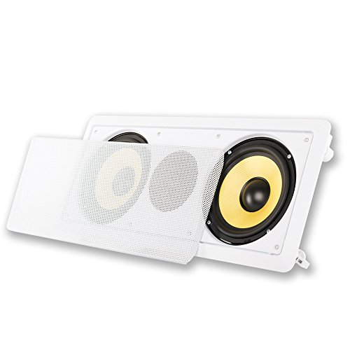 "Acoustic Audio HD-6c In-Wall 6.5"" Center Channel Speaker In Ceiling 350 Watt"