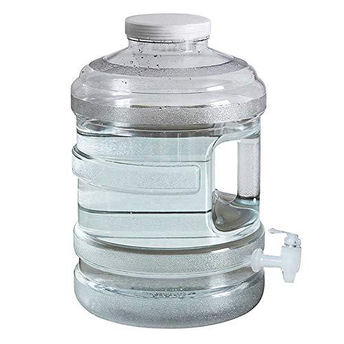 Gnohnay 15L Cubo de Almacenamiento de AGU, Recipiente de Agua con Grifo y Asa, Tanque de Agua para Acampar, Hacer Senderismo, Escalar U Otras Actividades de Viaje al Aire Libre