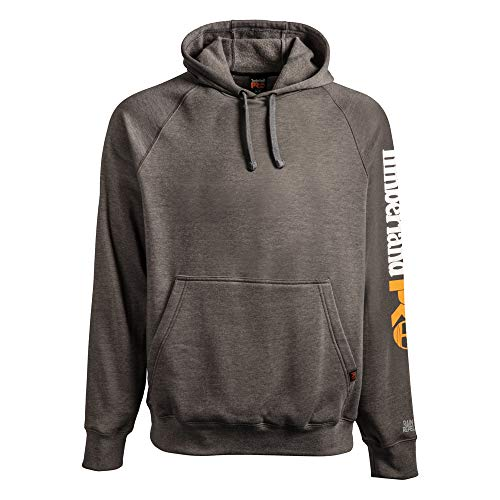 Timberland PRO Men's A1HVY Hood Honcho Sport Pullover - X-Large - Dark Charcoal Heather