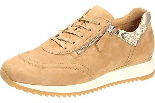 Gabor Comfort 46.335.34 - Zapatillas con Cordones, Color Beige, Talla 38 EU