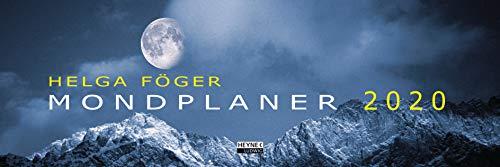 Mondplaner 2020: Tischkalender