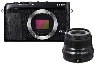 Fujifilm X-E3 Siyah + XF23mmF2 Kit