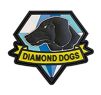 Diamond Dogs Metal Gear Solid Tactical Patch [3D-PVC Rubber-3.0 X 2.6 -DG3]