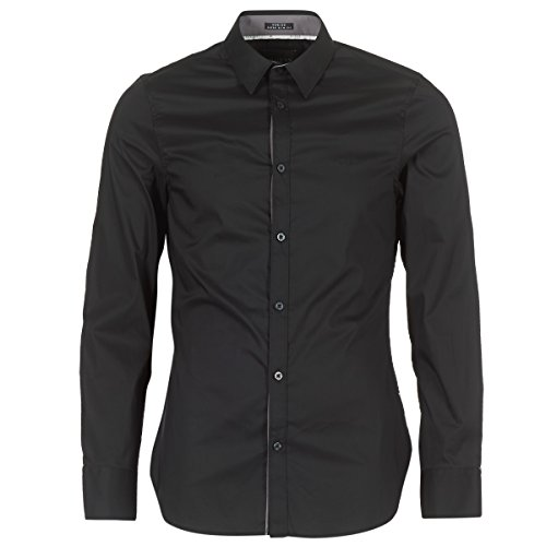 Guess Venice Hemden Herren Black - XXL - Langärmelige Hemden