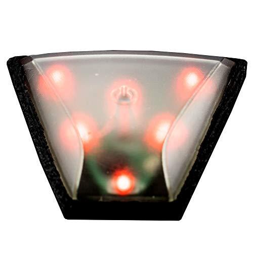 Alpina Unisex– Erwachsene Plug-IN-Light IV Fahrradhelmlicht, transparent, one Size