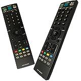 Nuevo Mando LG AKB73655802 Mando a Distancia de Reemplazo para LG TV 32CS460 32LS3400 32LS5600 32LS3450 32LS3500 32LT360C 37LS5600 22LS3500 22LT360C 37LT360C 19LS3500 26CS460 26LS3500 26LT360S