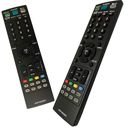 iLovely Telecomando LG AKB73655802 Universale per LG TV Remote Control 32CS460 32LS3400 32LS3450 32LS3500 32LS5600 Nessuna Configurazione Richiesta TV Telecomando