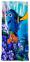 Disney/Pixar Movie Finding Dory, Dory and Marlin in the Coral Reefs, Beach Towel
