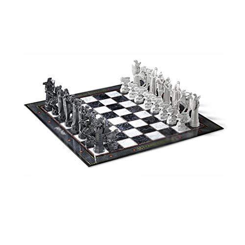YAMMY Ajedrez, Juego de ajedrez Minimalista y Elegante portátil, Viajes al Aire Libre Que Pueden Llevar ajedrez + Enviar pequeños Regalos, Blanco + Negro (Color: Blanco + Negro) (Juegos de ajedrez)