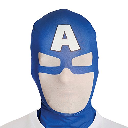 Costume - Marvel Captain America maschera Morph adulti - One Size