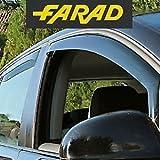 Farad Kit 4 Deflettori Aria Antivento Anteriori/Posteriori Fiat Bravo (5 p) dal 2007