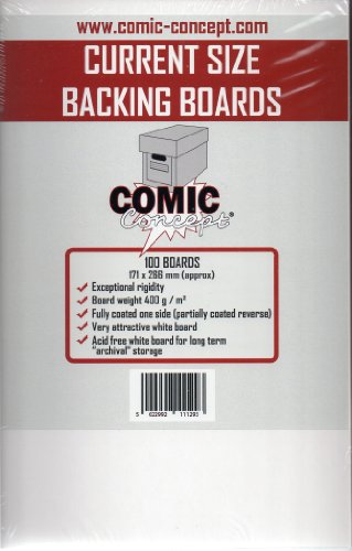 Comic Backing Boards Current Size (100 ct.)