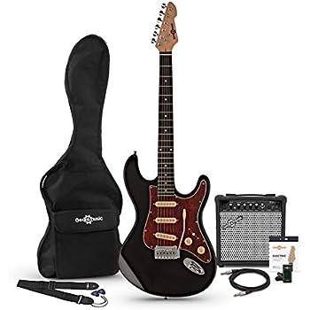 Set de Guitarra Electrica SSS LA Select Negra + Amplificador...