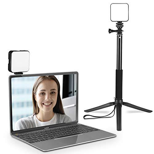 CHANONE Kit luci da conferenza per MacBook Web Meeting Light per computer portatile, videoconferenze, chiamate con zoom, funzionamento remoto, registrazione video TikTok Youtube Livestreaming