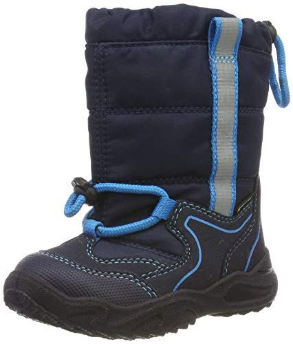 Superfit Jungen Glacier Gore-Tex Schneestiefel, Blau (Blau/Blau 80), 24 EU