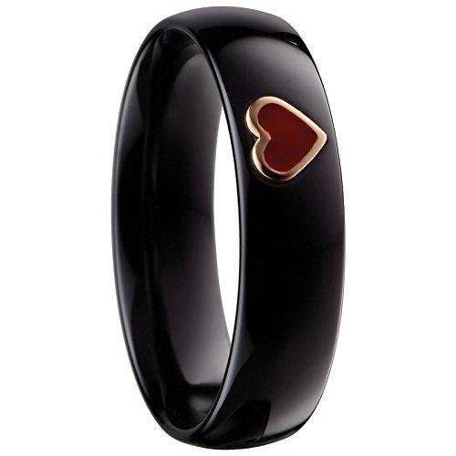 Bering Damen-Ring arctic symphony InnenRing Keramik Gr. 60 (19.1) - 550-63-72