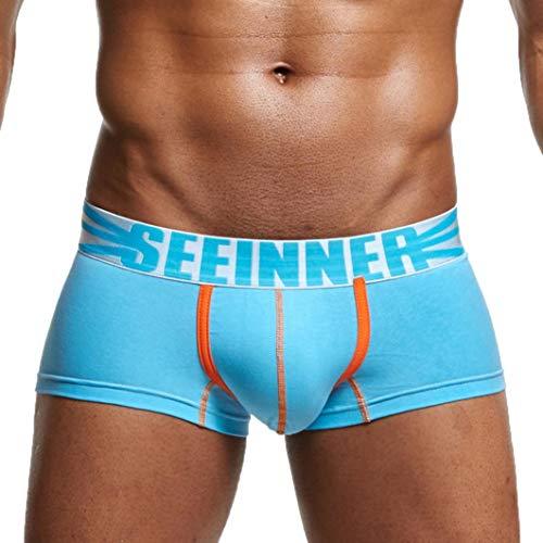 Celucke Klassisch Solide Unterhosen Männer Hipster männlichen Boxershorts