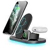 Nomi Chargeur sans Fil, Base De Charge Maximale De 15 W, Compatible avec Apple IPhone Série...