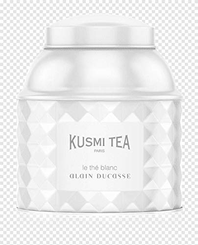 KUSMI Tea Paris - WHITE TEA ROSE RASPBERRY (Weißer Tee Rose Himbeere) by Alain Ducasse - 120gr DOSE