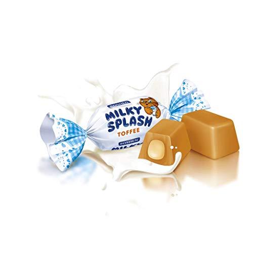 Milky Splash Toffee mit Milch gefüllt 1kg von Roshen I Polnische Süßigkeiten