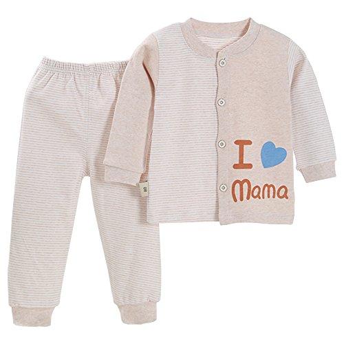 BOZEVON Lindo Animal Impresión Pijamas Set Para Unisexo Niño Minions, Pijama para Niños, rosa elefante/verde/azul