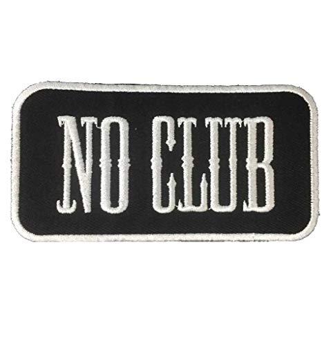 KUSTOM FACTORY Parche NO Club