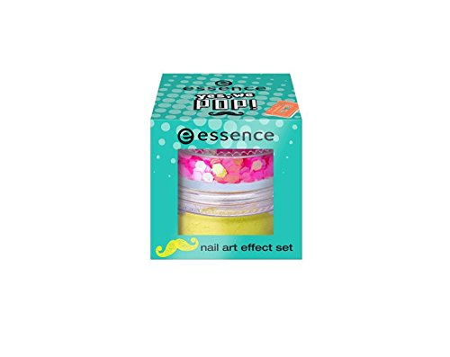 Essence, YES, WE Pop. Effect Nail Art Kit Effet 01 Ready For Hip Hop ongles