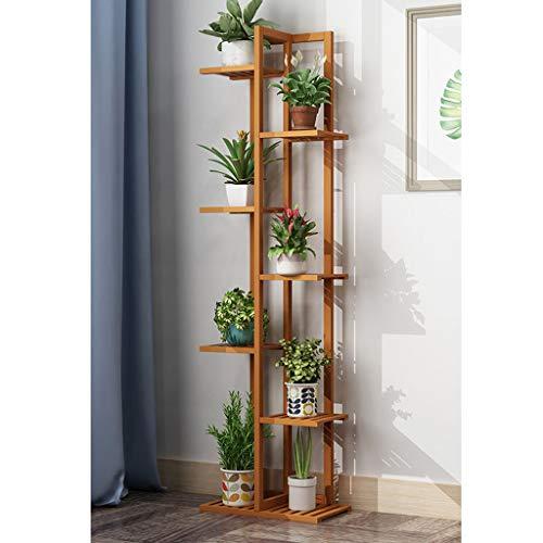 Estante de escalera con soporte para plantas en niveles, sop