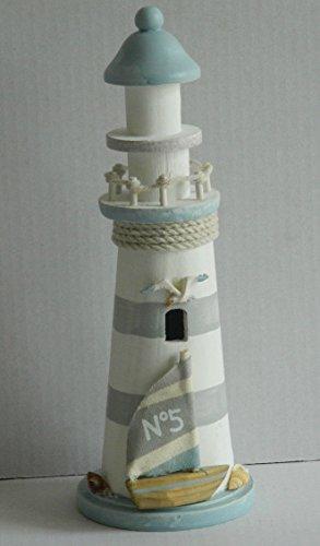 Cauldron Gifts - Faro decorativo, estilo Shabby Chic (29cm)