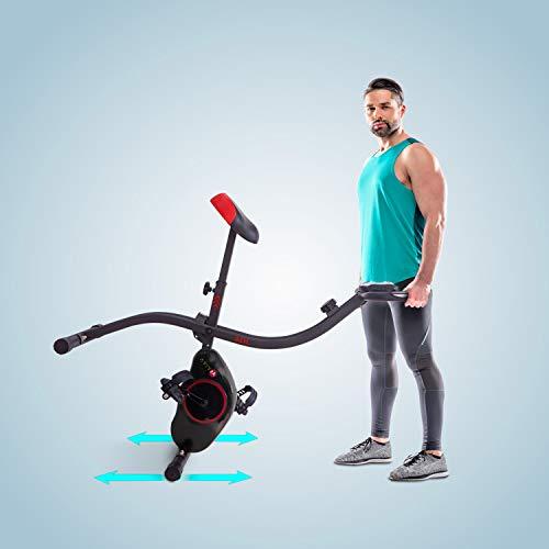 Ergometer Heimtrainer X-Bike: Klappbar & günstig Bild 5*