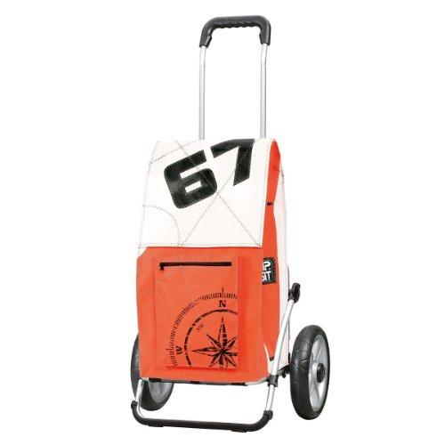 Carro de compra Royal HIPSIT, ruedas con rodamiento de bolas, volumen 45L, 3 años de garantía, Made in Germany