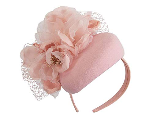 Fillies Collection Pink Pillbox with Large Flower by