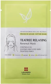 [Leaders Insolution] Tea Tree Relaxing Renewal Mask   Single Mask