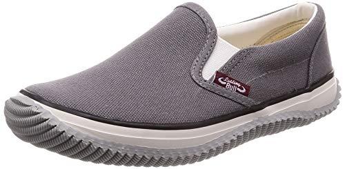 [福山ゴム] カジュアル作業靴 ラスティングブル レディース グレー 22.5 cm 3E