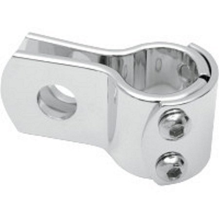 Attache Universelle Chrome - Clamps Moto Harley 32mm