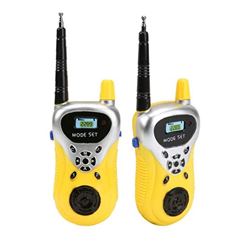 nJiaMe Chilren walkie talkies de Juguete Talkie Mini Intrecom Dos vías Radio portátil inalámbrico Walkie Talky Regalo Fresco del día de los niños al Aire Libre Juega