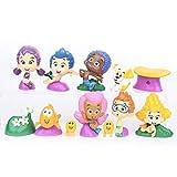Generies 12 Piezas Bubble Guppies Small Figura Juguetes