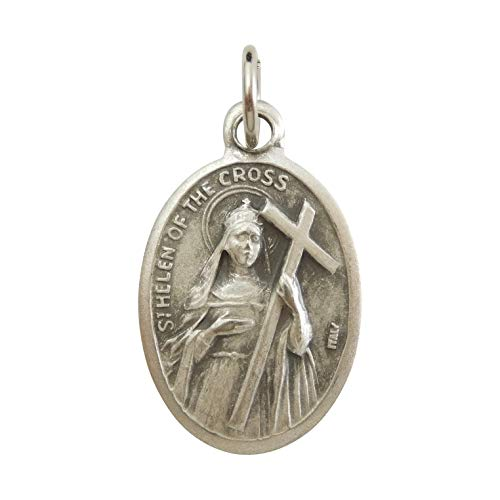 聖ヘレナ メダイ 考古学者・結婚問題の守護聖人 イタリア 聖女 ペンダント チャーム