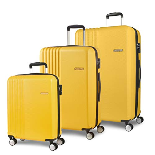American Tourister Beachrider Suitcase Set 3-Piece 78 cm 99 L Yellow