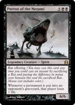 Magic The Gathering - Patron of The Nezumi - Commander