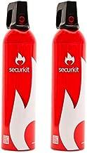 SECURIKIT Pack de 2 Spray extintor de Espuma para Coche o casa.