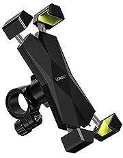 UGREEN Autohouder voor Mobiele Telefoons Anti Shake Rotatie 360 Fiets Telefoonhouder voor 3,5 tot 6,5 inch GPS Smartphones iPhone Xiaomi Huawei OnePlus enz.