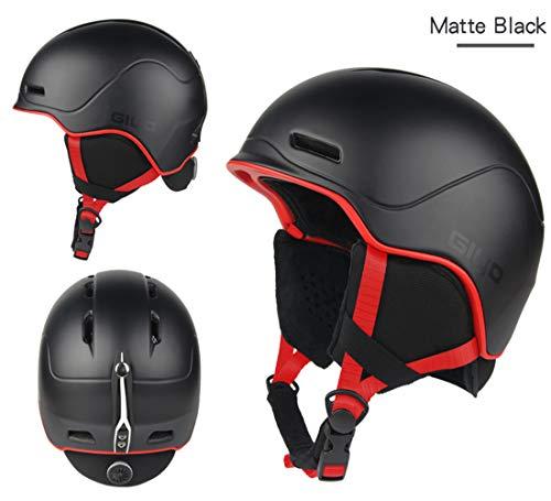 JayQm Safety Ski Helmen Winter Outdoor Sport Helm Mannen Vrouwen Licht Crash Warm Snowboard Helmen Inbouw-gegoten Skate Helm - Een geschenk