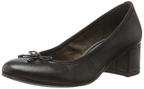 Tamaris Damen 22305 Pumps, Schwarz (Black Leather), 39 EU